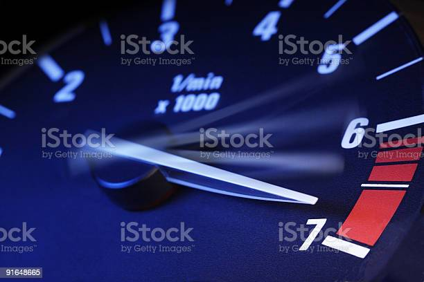 Tachometer Stock Photo - Download Image Now
