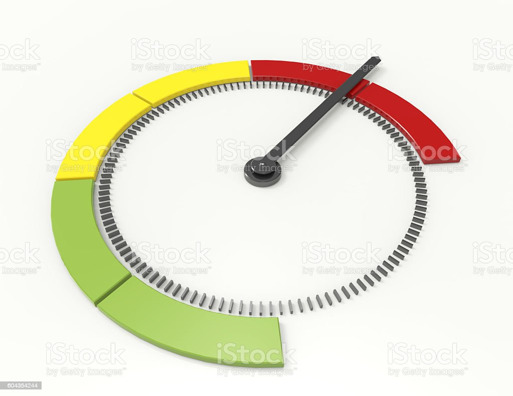 tachometer, speedometer and performance measurement icon stock photo