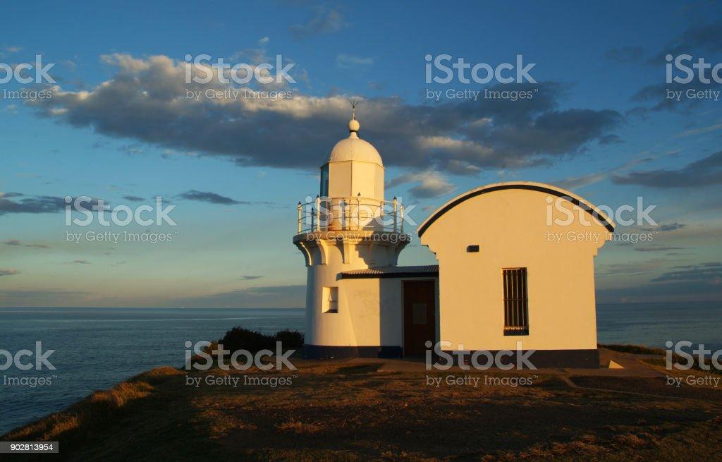 Tacking Point Lighthouse Port Macquarie NSW Australia stock photo