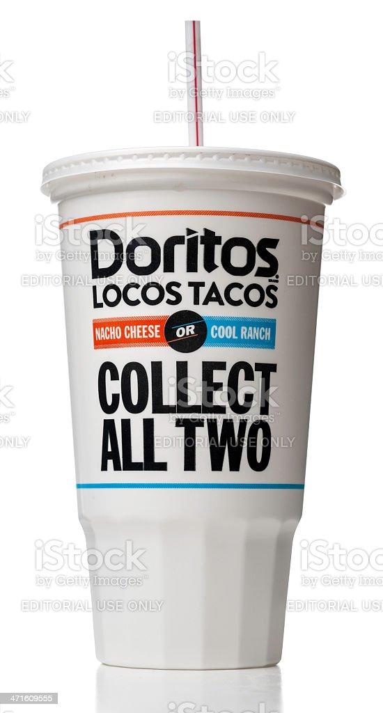 Doritos Nutrition Label Cool Ranch - NutritionWalls