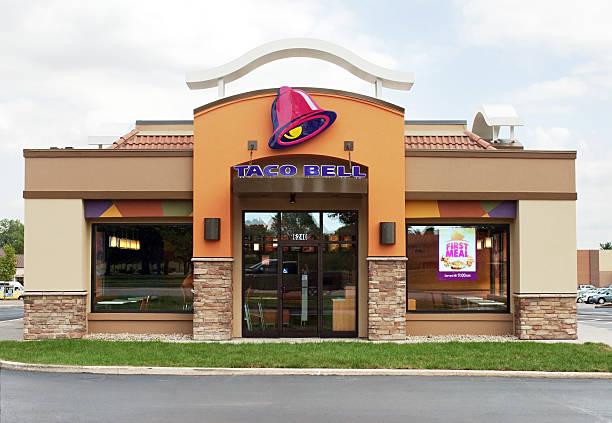 Taco Bell Restaurant stock photo