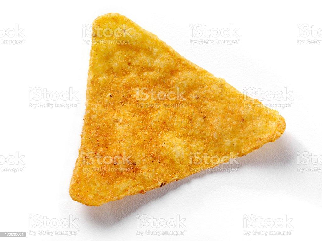 Taco Chip royalty-free stock photo