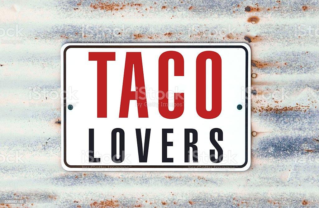 Taco Lovers stock photo