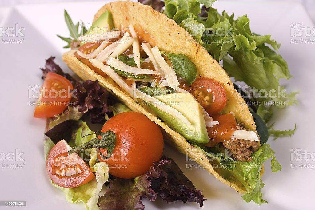 Taco royalty-free stock photo
