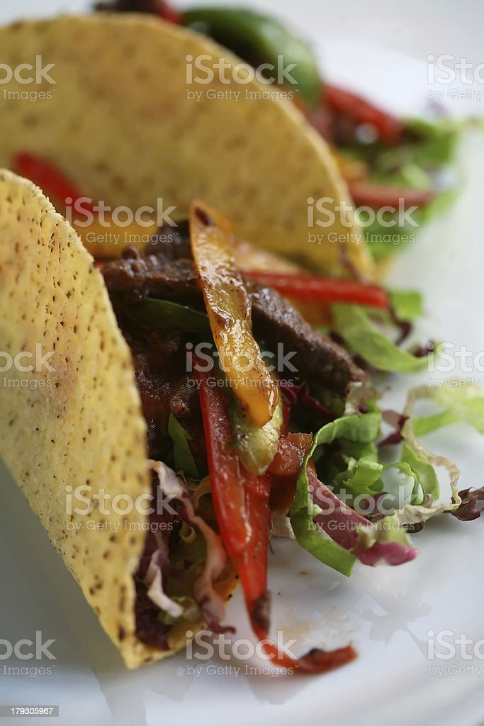 Taco royalty-free stock photo