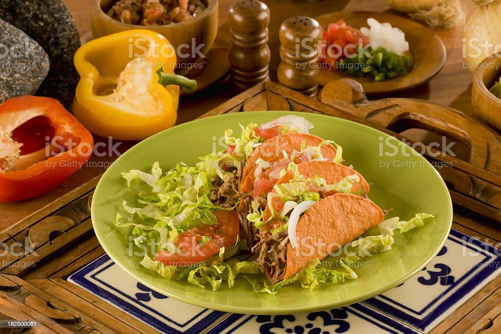 Taco - foto de stock
