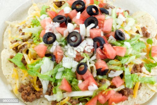 Taco Salad Closeup Stock Photo & More Pictures of Beef