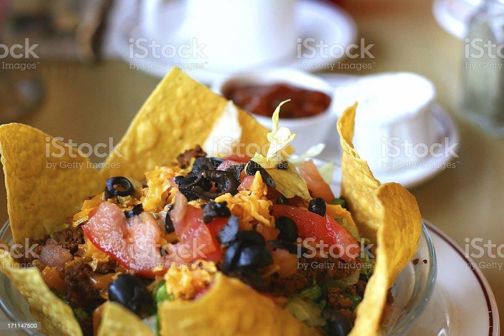 Taco Salad royalty-free stock photo