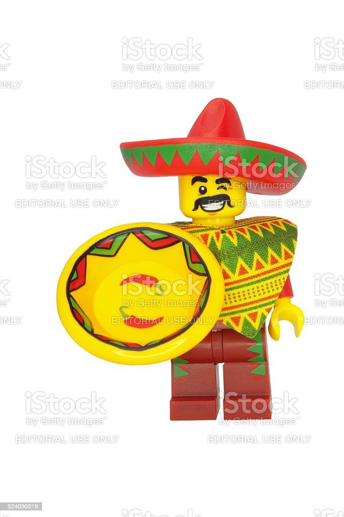Taco Tuesday Guy stock photo