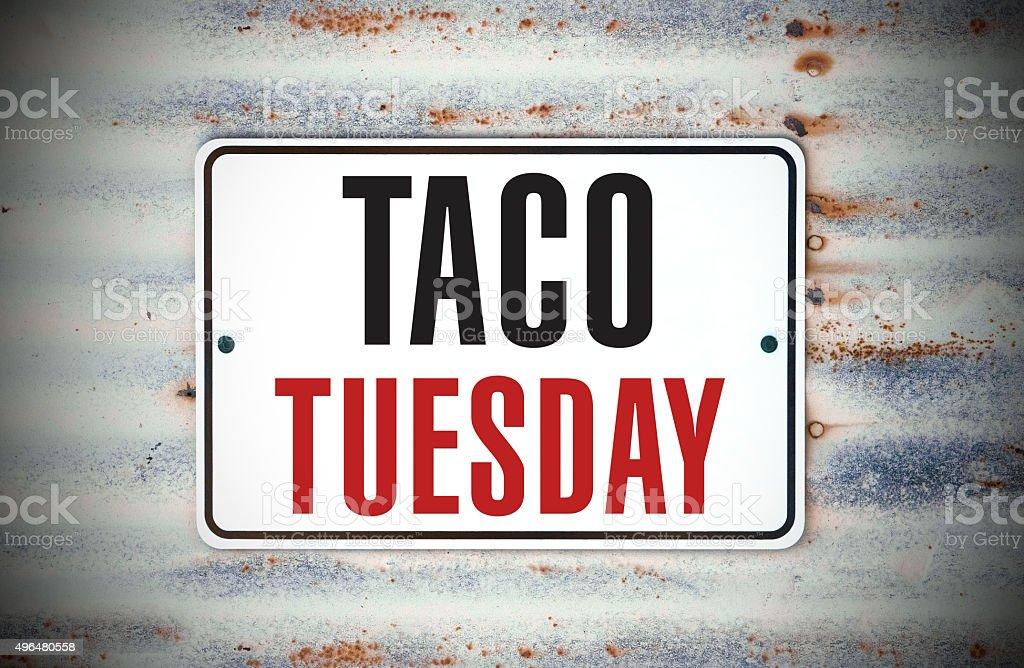 Taco Tuesday stock photo