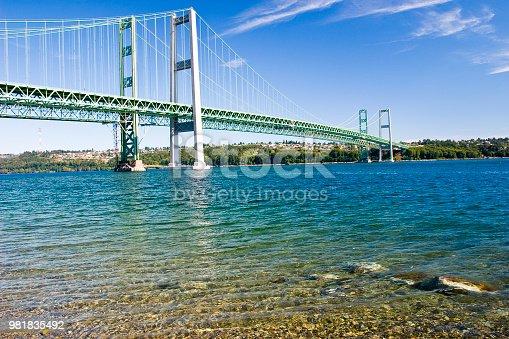 Narrows Bridge in Tacoma Washington