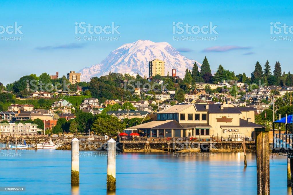 Tacoma, Washington, USA - Zbiór zdjęć royalty-free (Bez ludzi)