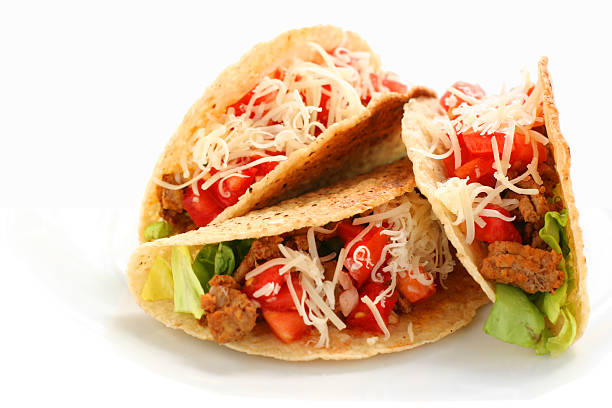 tacos - taco foto e immagini stock