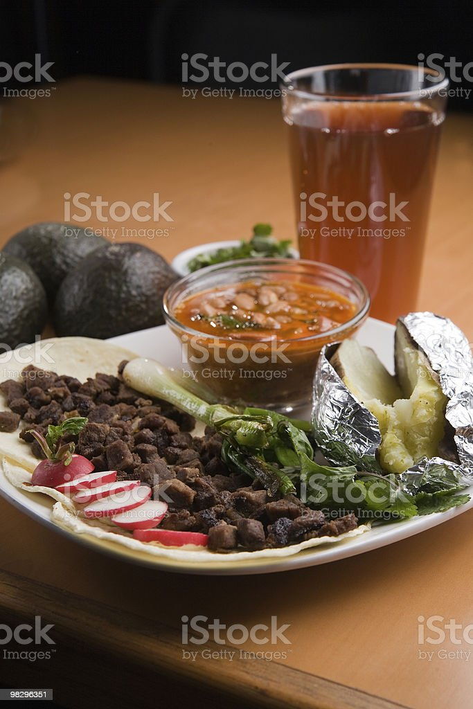 Tacos royalty-free stock photo
