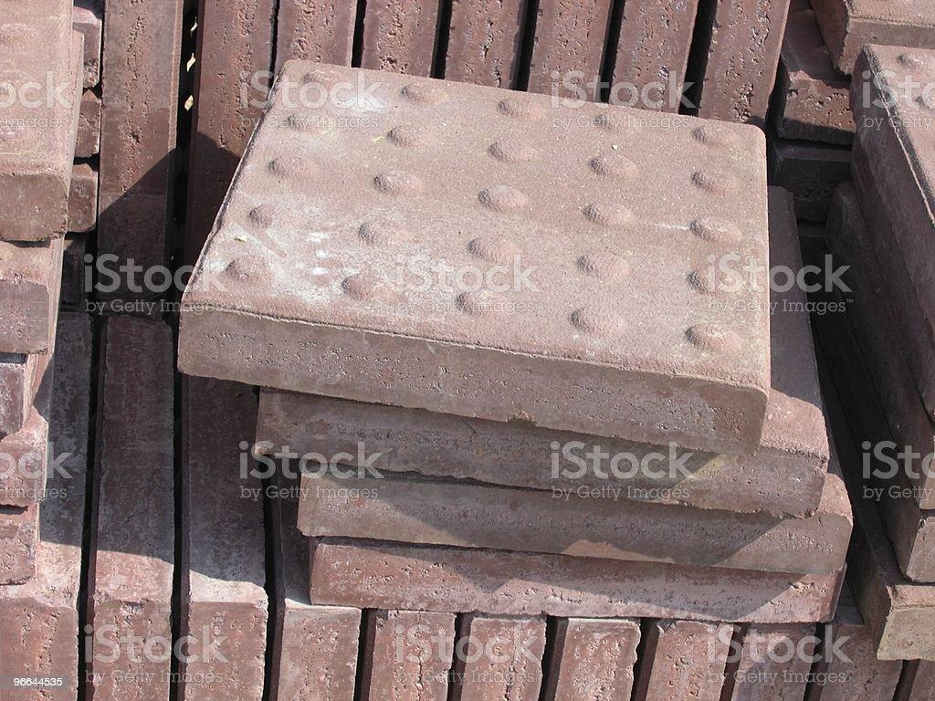Tactile Pavers stock photo