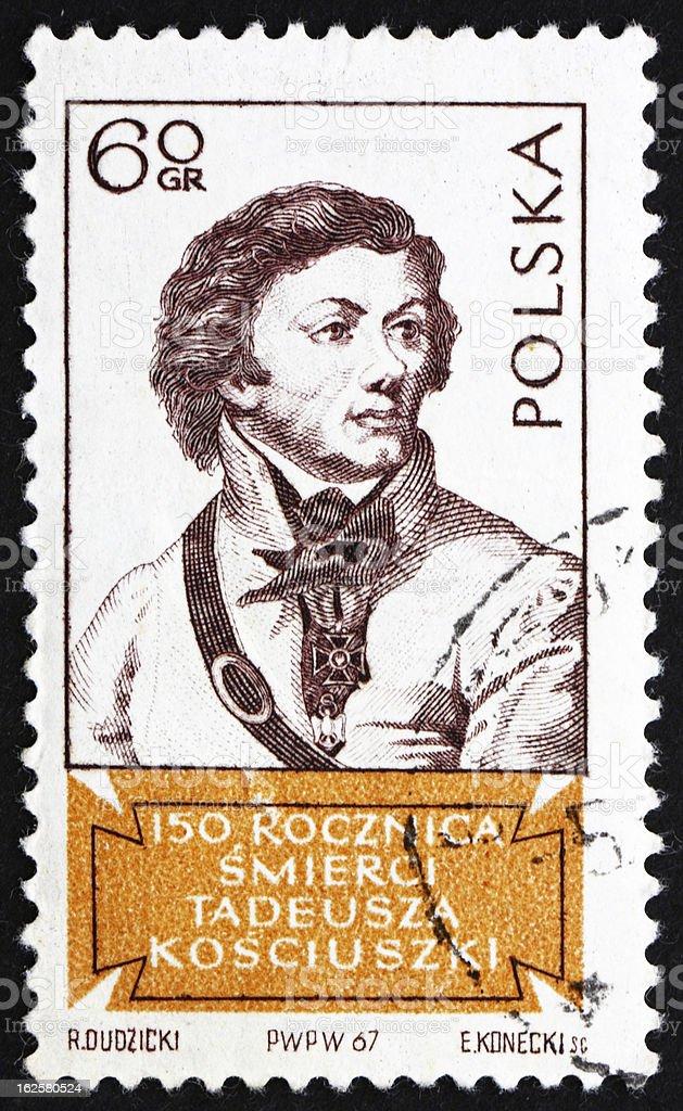 Tadeusz Kosciusko stock photo
