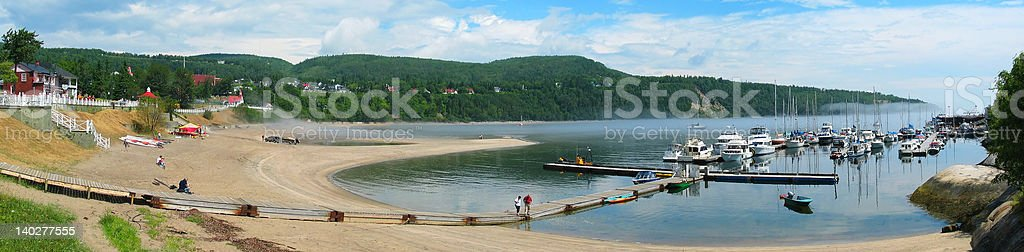 Tadoussac royalty-free stock photo