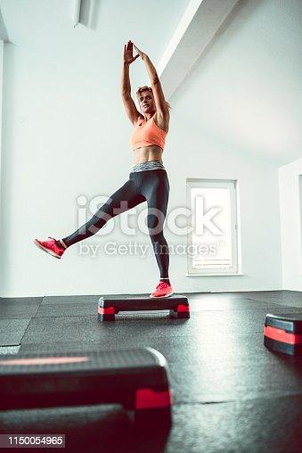 Tae Bo Stretching On Steeper