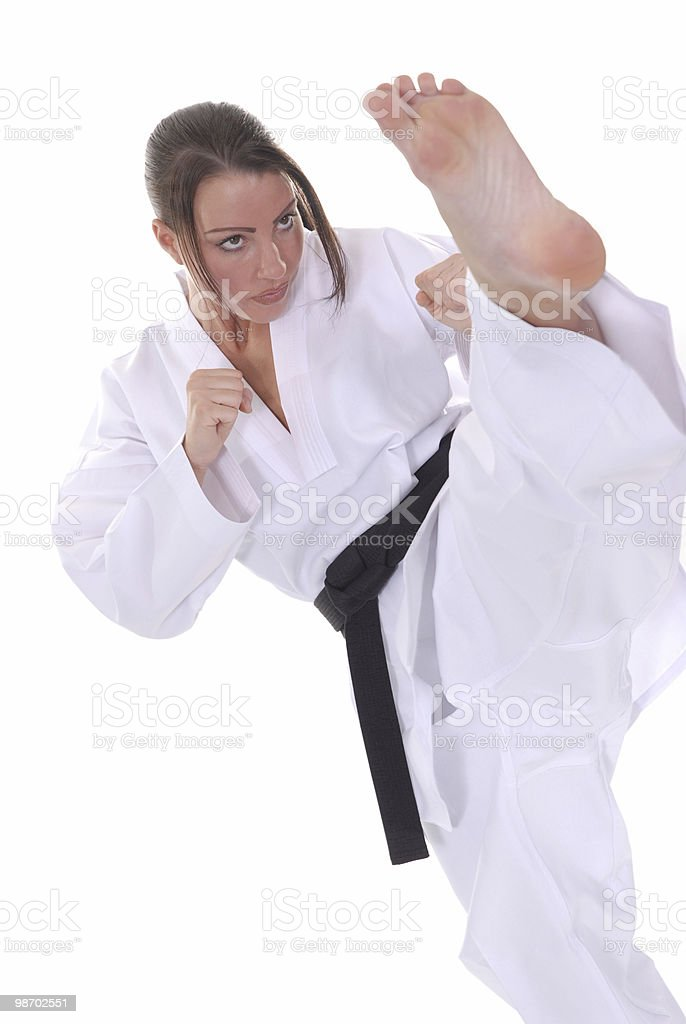 Tae Kwon Do royalty-free stock photo