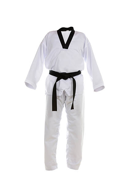 tae kwon do uniform - sports uniform stock photos and pictures