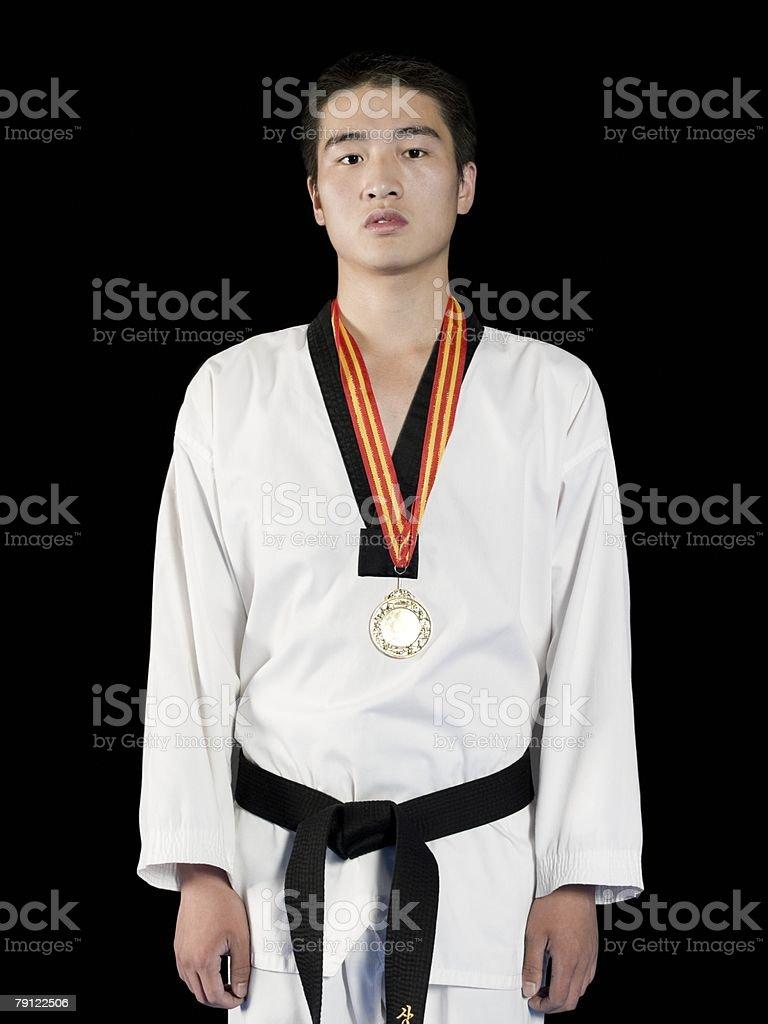 Taekwondo champion royalty-free 스톡 사진