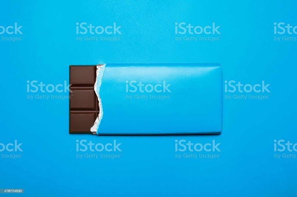 Tafel Schokolade stock photo