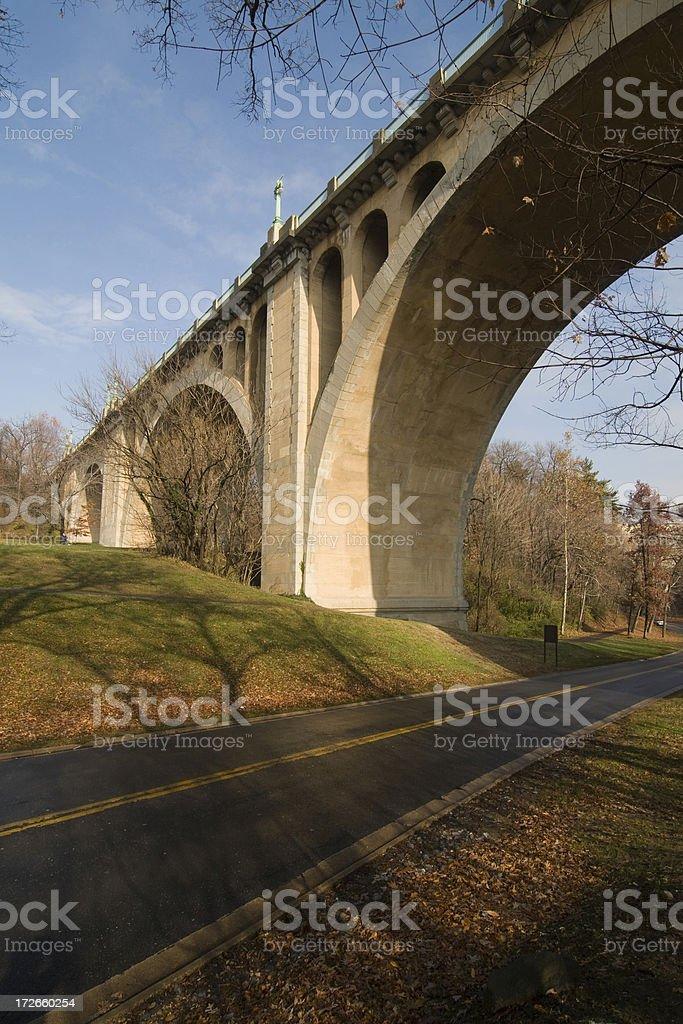 Taft Bridge royalty-free stock photo