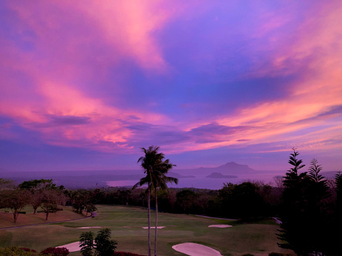 Tagaytay Midlands golf club sunset