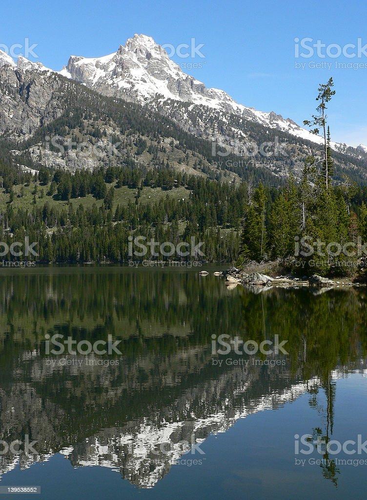 Taggart Lake, Grand Teton royalty-free stock photo