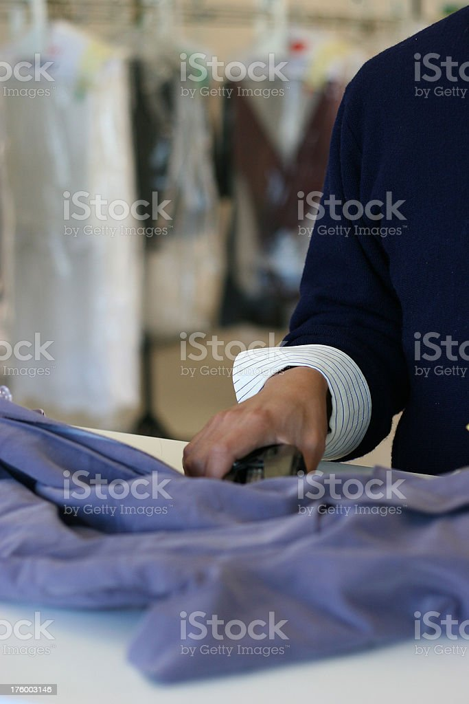 Tagging Clothing 2 Vertical royalty-free stock photo