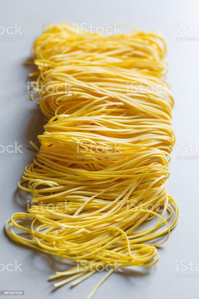 Tagliolini Nudeln - Lizenzfrei Asiatische Nudeln Stock-Foto
