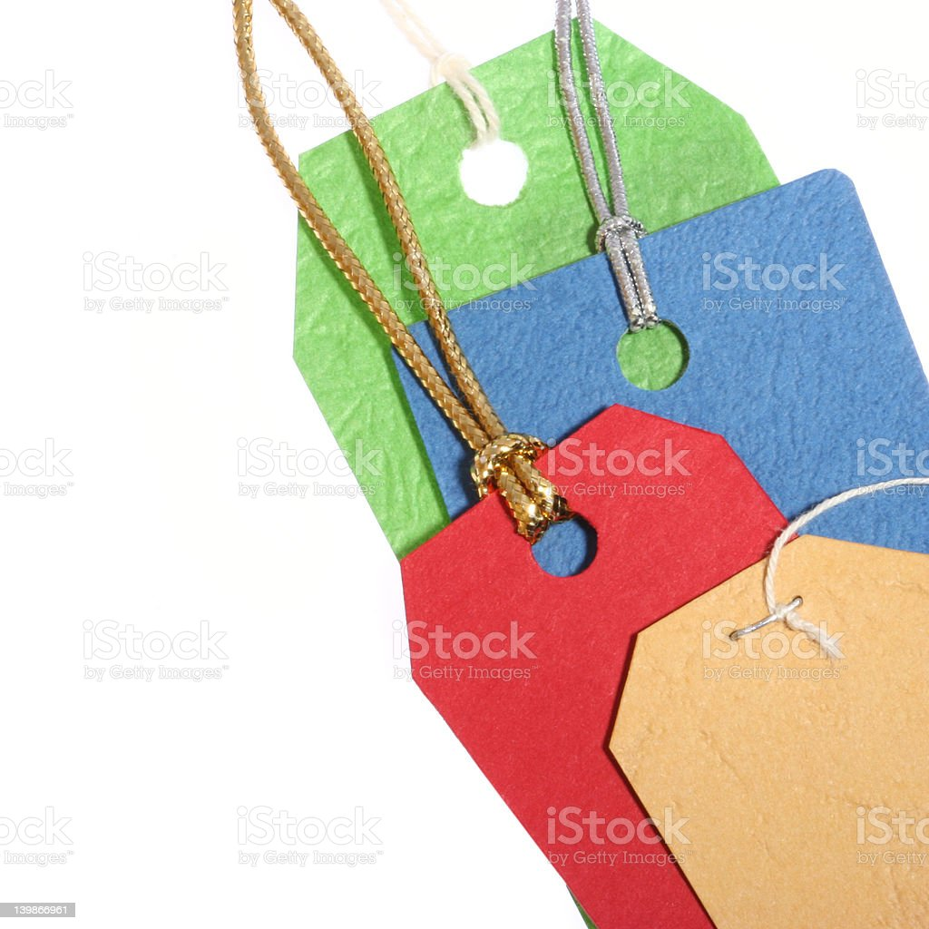 Tags royalty-free stock photo