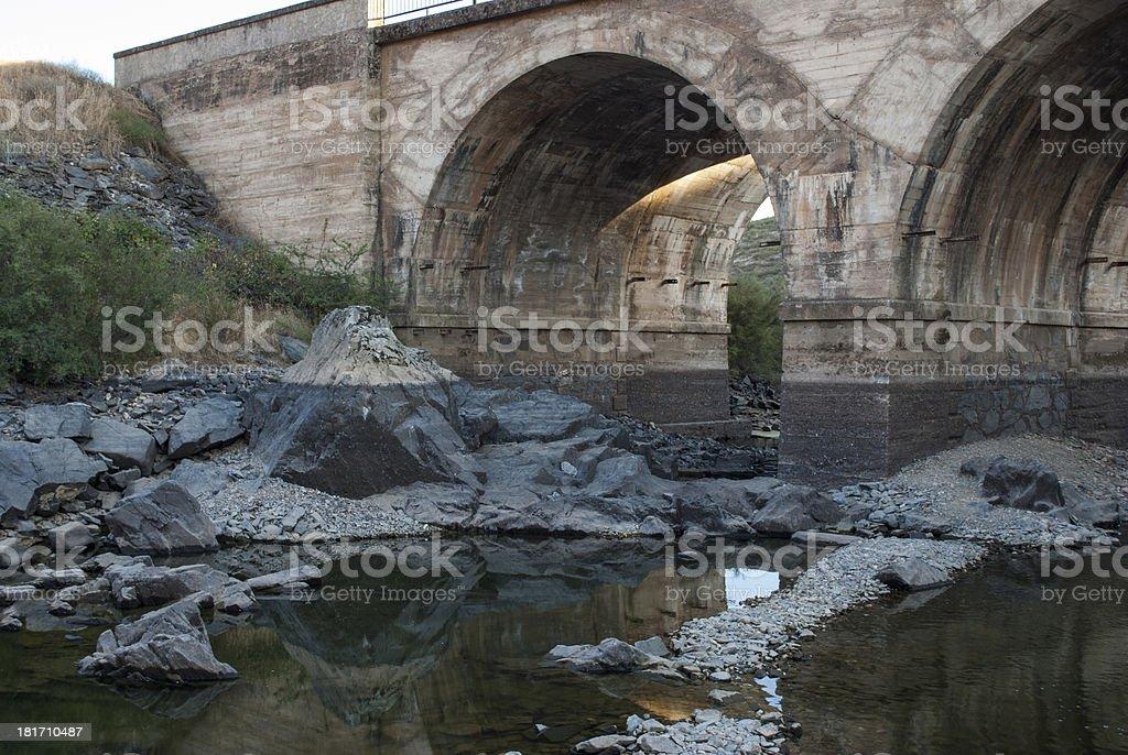 Tajo River royalty-free stock photo