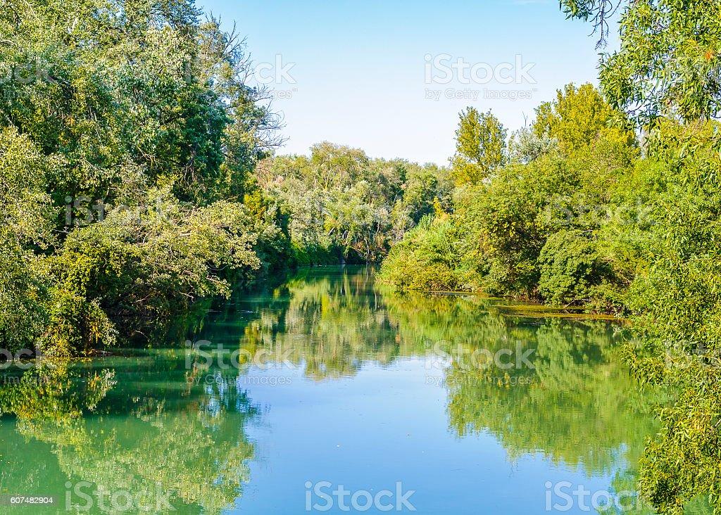 Río tajo - foto de stock