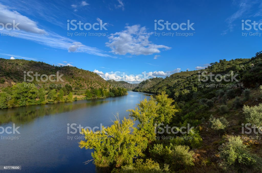 Tagus River (Rio Tejo) stock photo
