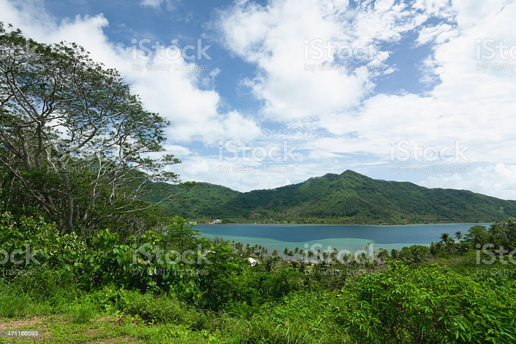 Tahaa Island stock photo