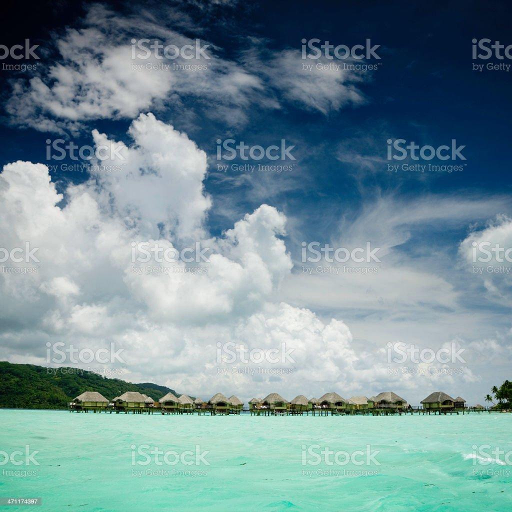 Taha'a Tourist Resort stock photo