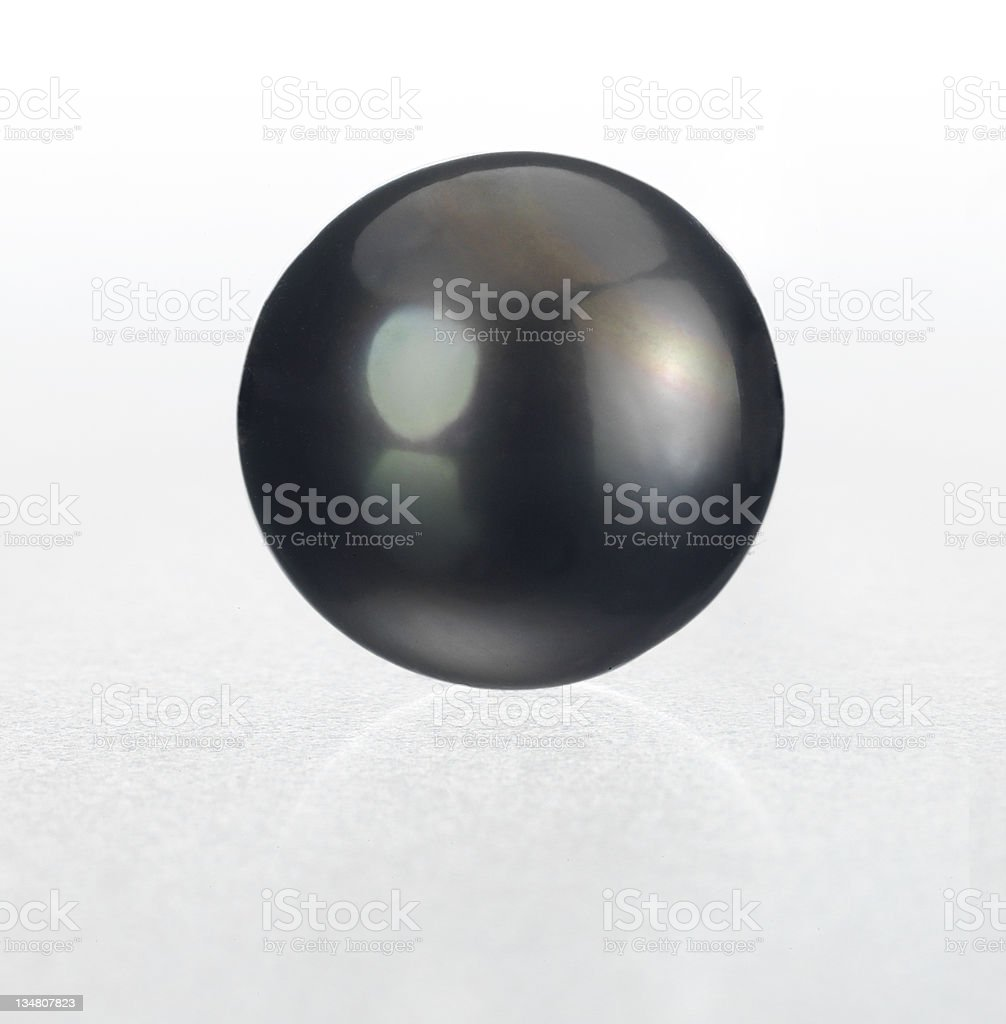Tahiti Pearl royalty-free stock photo