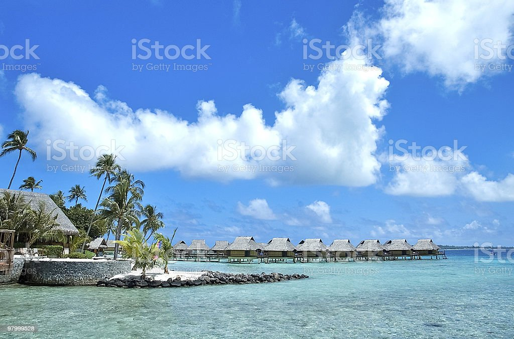 tahiti royalty-free stock photo