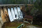 Tahoma Dam near Marion, North Carolina.