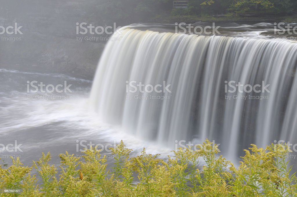 Tahquamenon Falls, Michigan royalty-free stock photo