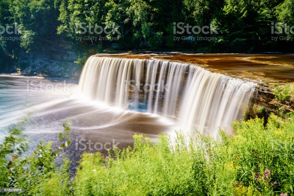 Tahquamenon Falls royalty-free stock photo