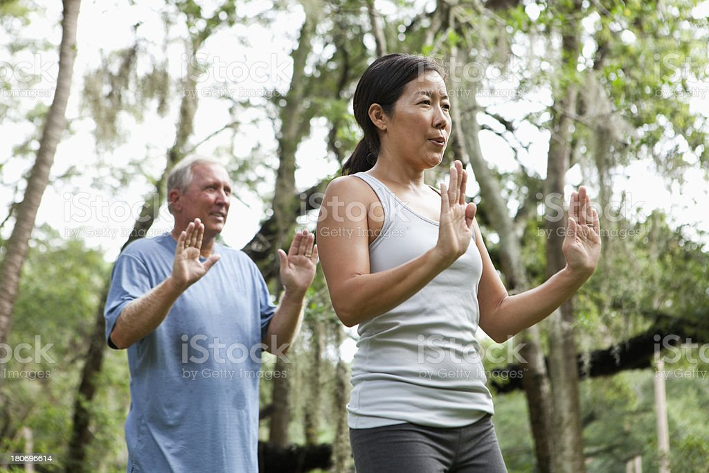 Tai chi royalty-free stock photo