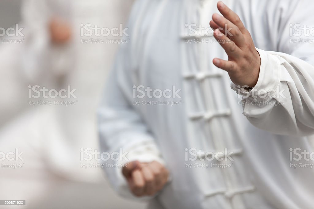 Tai Chi stock photo