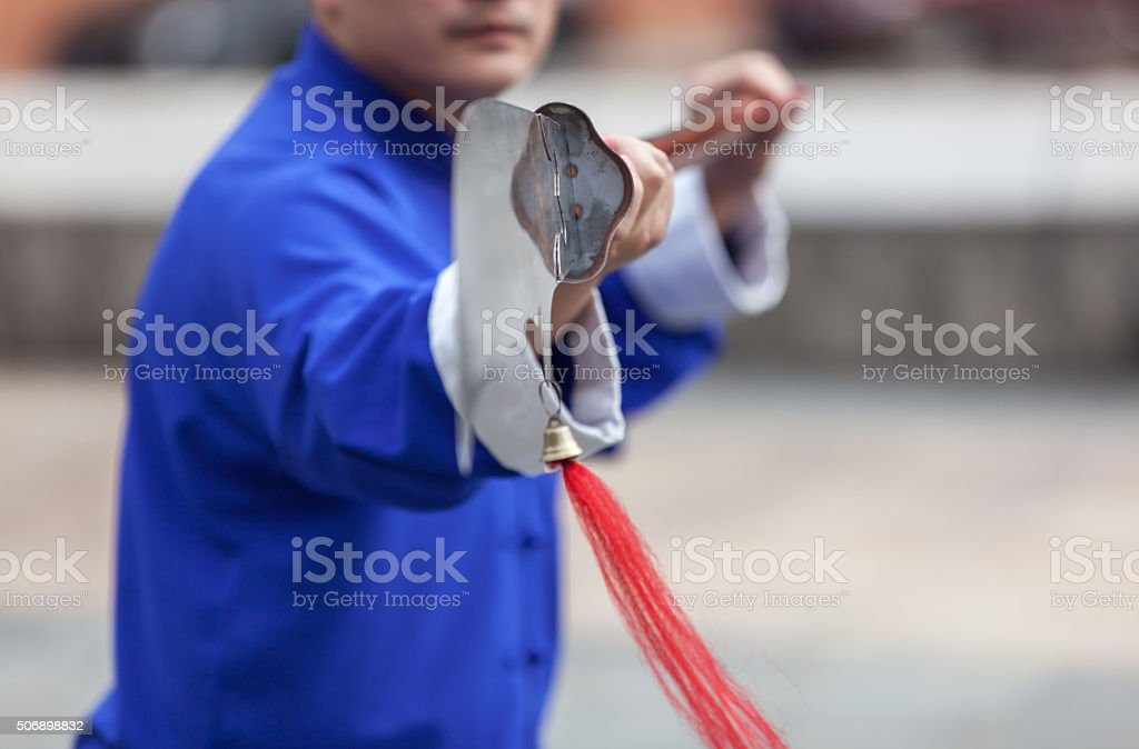 Tai Chi stock photo
