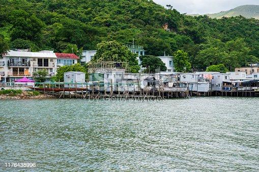 Tai O fishing village on Lantau Island, Hong Kong is a popular tourist destination