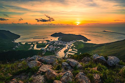 Tai O fishing village, Lantau, Hong Kong