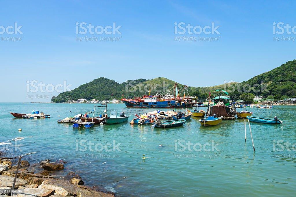 Tai O Fishing Village stock photo