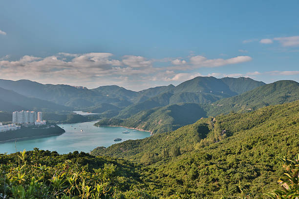 Tai Tam view from Dragon's Back圖像檔