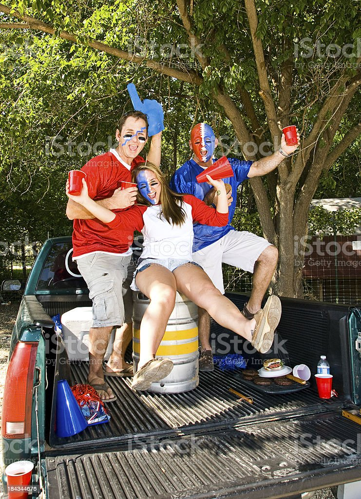 Tail Gate Party stock photo